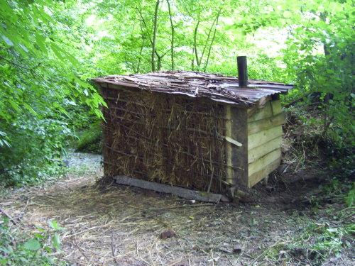 Construction DUn Sauna Pour  Francs Six Sous  Les Vers De Terre
