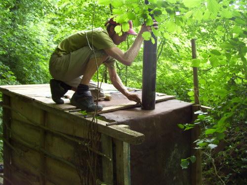 Construction d 39 un sauna pour 3 francs six sous les vers de terre - Construire son sauna exterieur ...